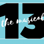 13 the musical - play title with stylized text